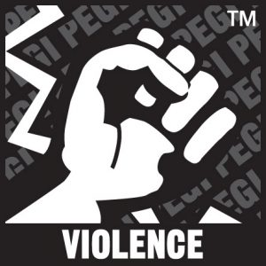The game contains depictions of violence. In games rated PEGI 7 this can only be non-realistic or non-detailed violence. Games rated PEGI 12 can include violence in a fantasy environment or non-realistic violence towards human-like characters, whereas games rated PEGI 16 or 18 have increasingly more realistic-looking violence.